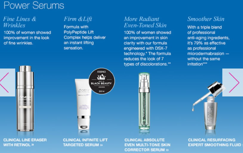 Avon Anew Reviews Clinical