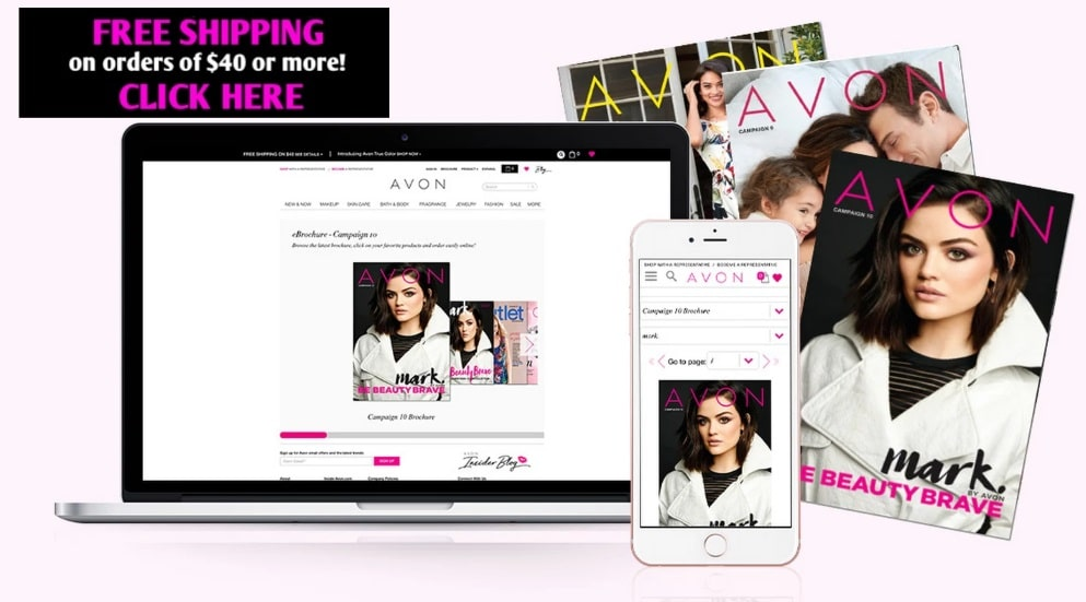 shop avon catalog