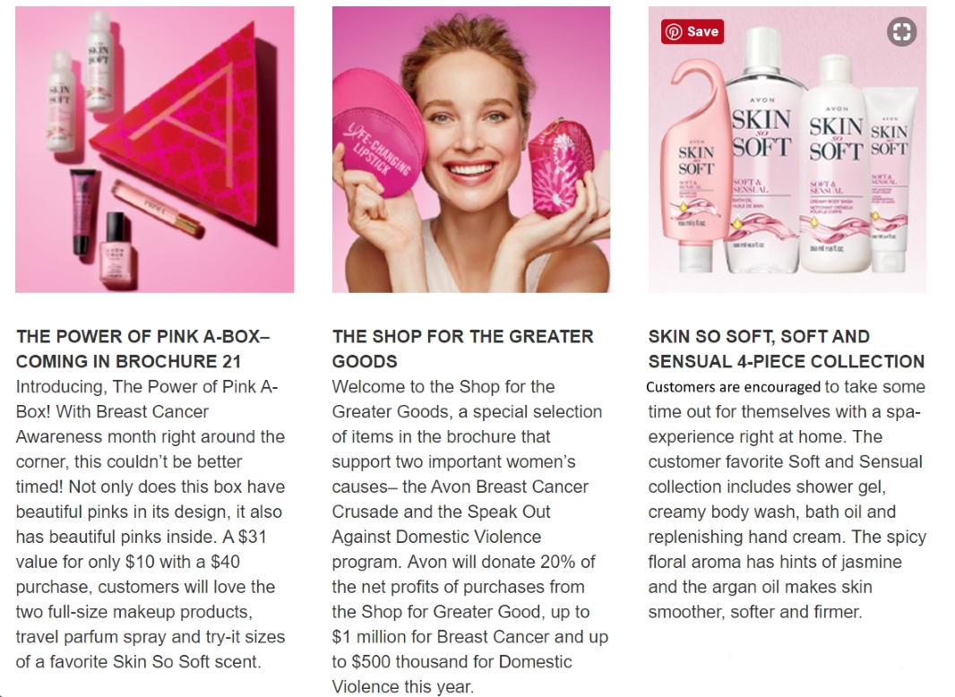 latest avon brochure