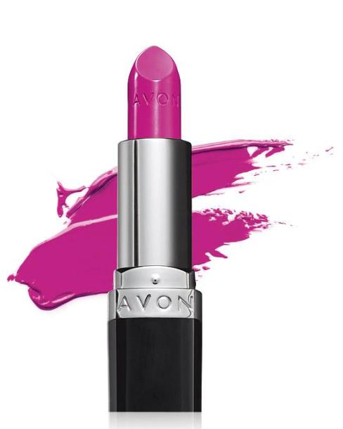 avon nourishing lipstick peony blush
