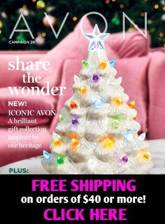 Avon catalog brochure campaign
