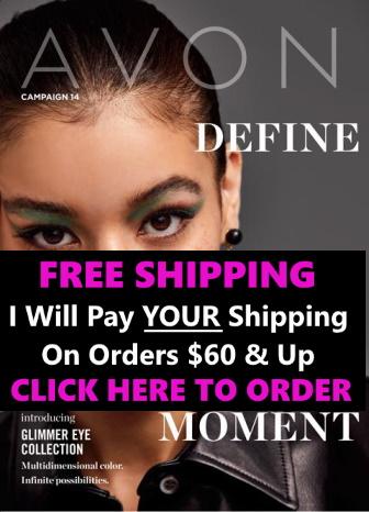 Avon brochure campaign